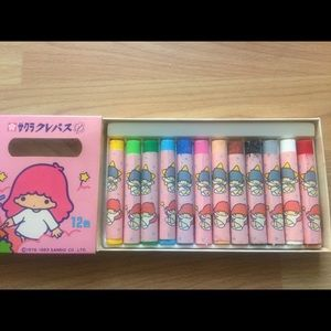 Sanrio Other - Little Twin Stars Crayons & Mechanical Pencils Lot